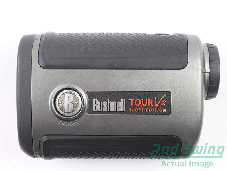 how to change bushnell tour v2 from meters to yards