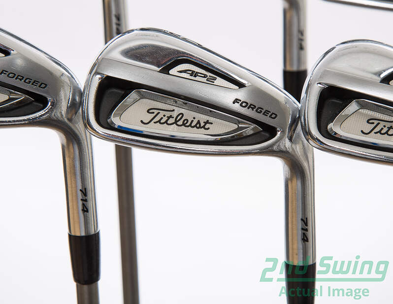 Titleist 714 AP2 Iron Set 5 PW Graphite Regular Right 38 In